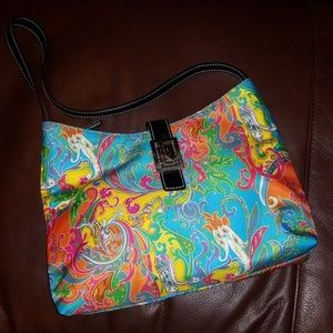 Ralph lauren paisley purse